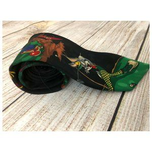 Looney Tunes Novelty Neck Tie Golf Bugs Taz